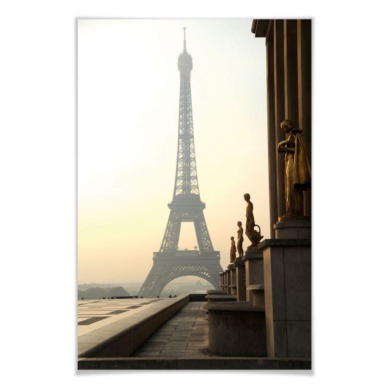 Poster - Bonjour Paris