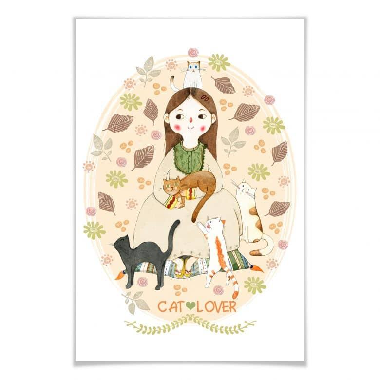 Poster Loske - Cat Lover