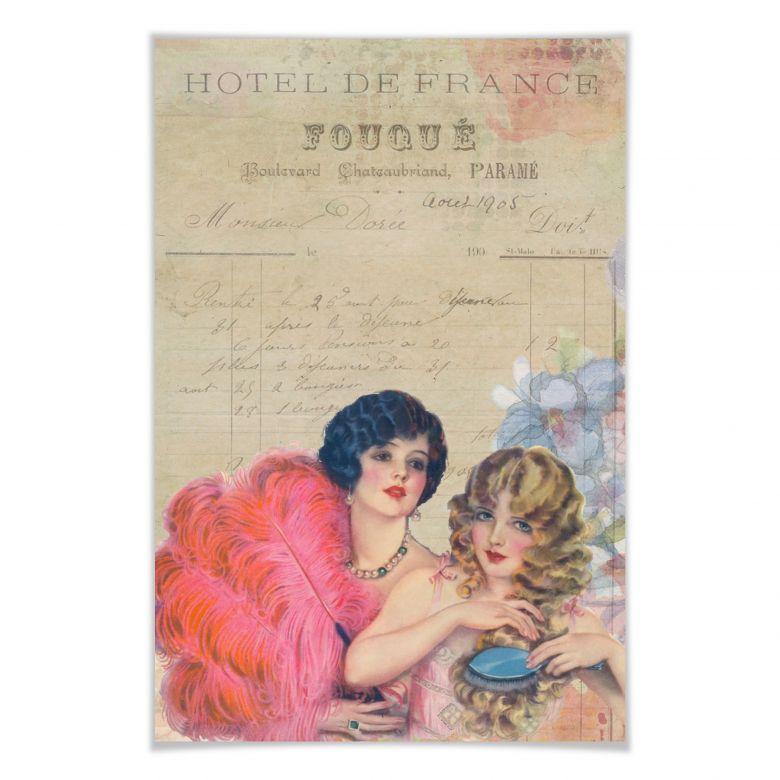 Poster Vintage Girls