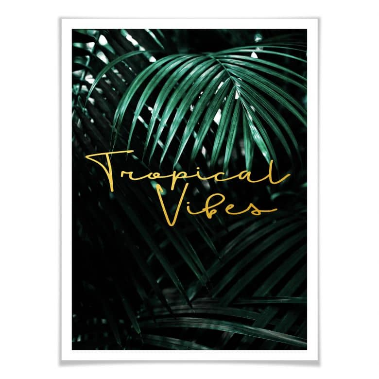 Premiumposter - Tropical Vibes