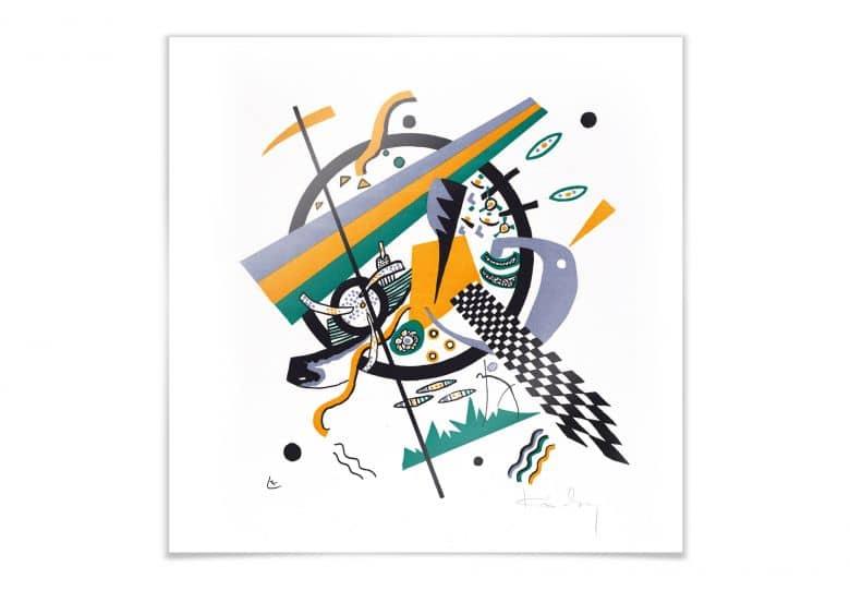 Poster Kandinsky - Kleine Welten 4