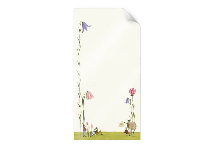 Poster Leffler - Blütenschnecke
