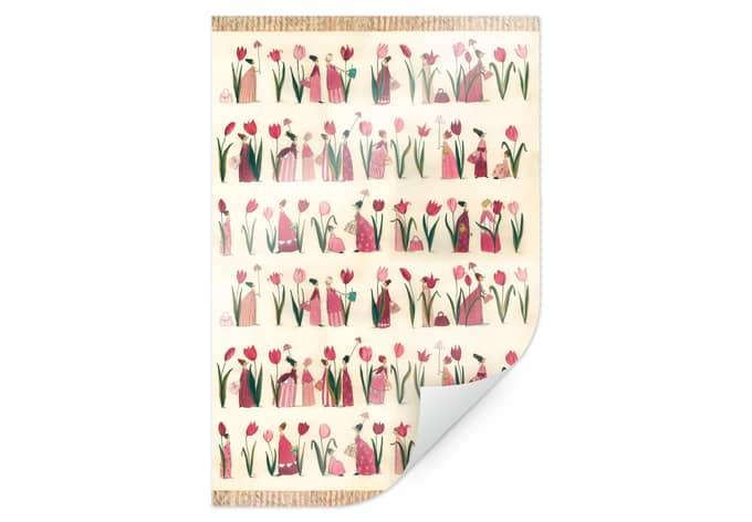 Poster Leffler - Tulpen