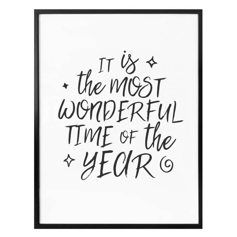 Poster Most wonderful time
