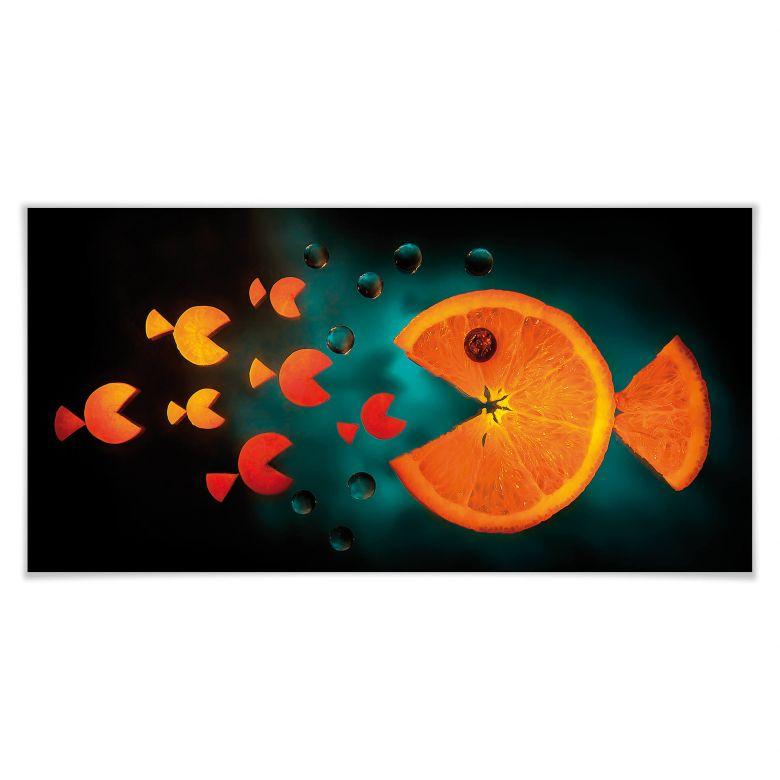 Poster Ianeva - Sweet Carrot - Panorama