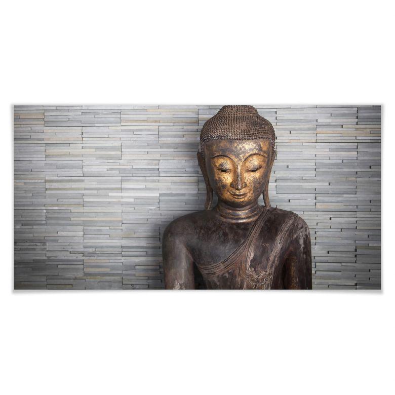 Poster- Buddha tailandese - panoramica 01
