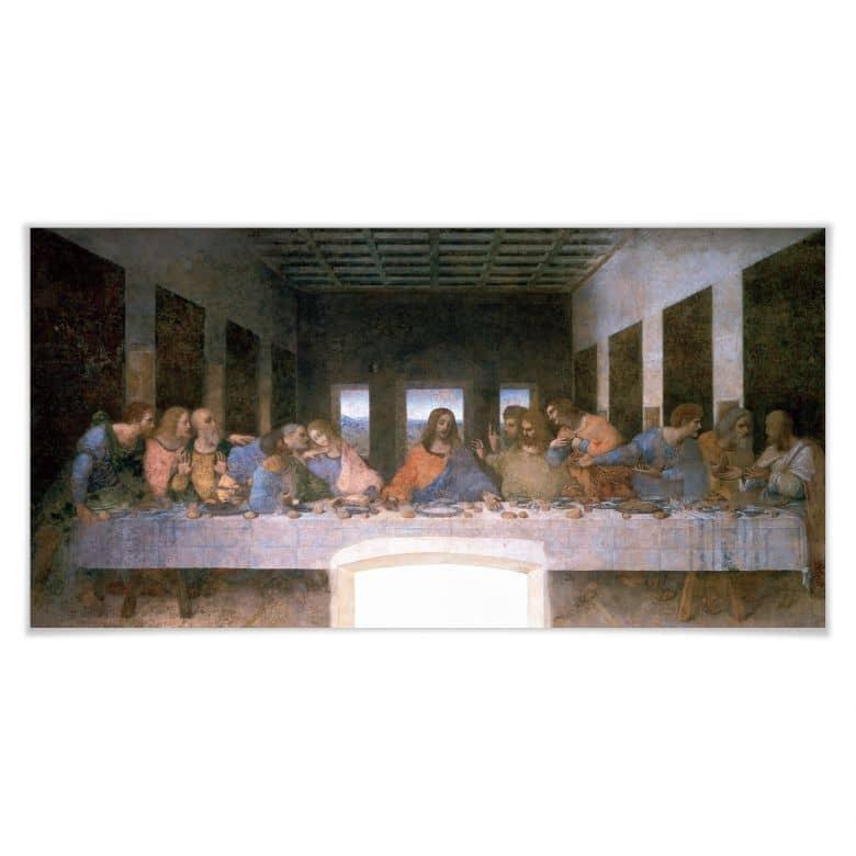 Poster Da Vinci - Das letzte Abendmahl - Panorama