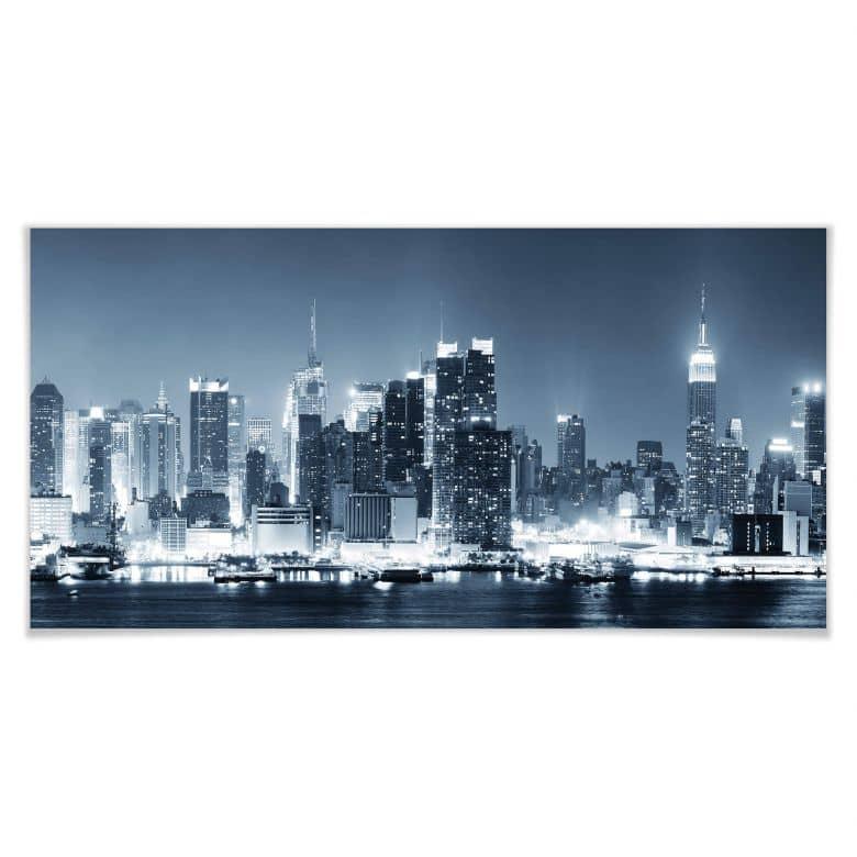 Poster - New York la nuit 01