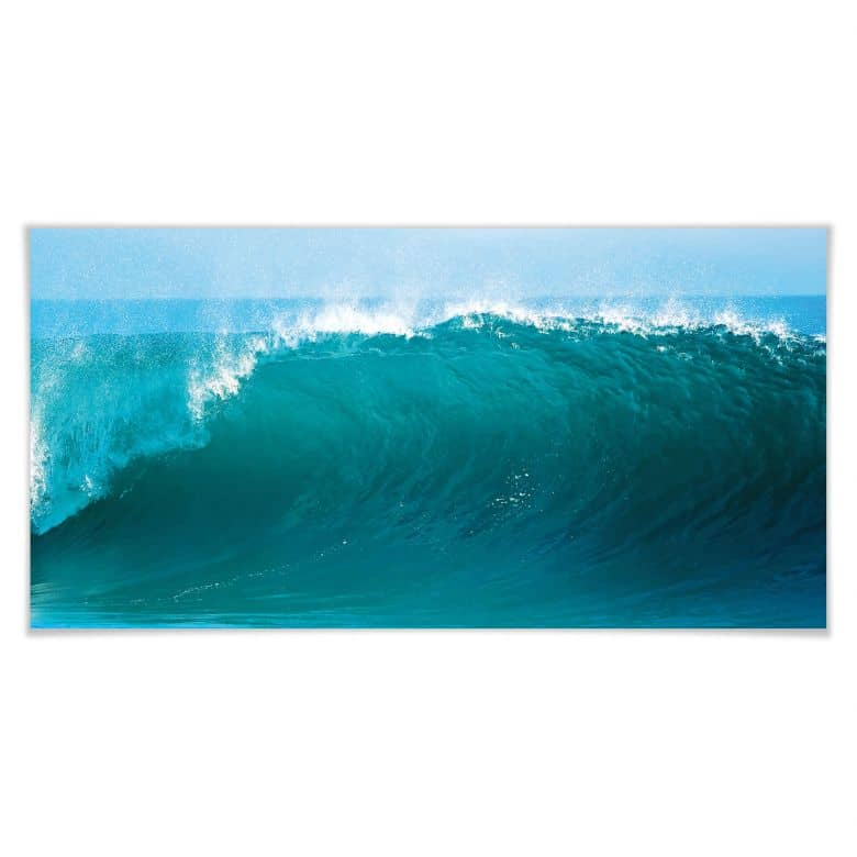 Poster Perfect Wave - Panorama