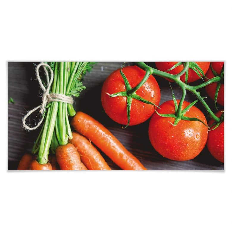 Poster Fresh Cooking - Panorama