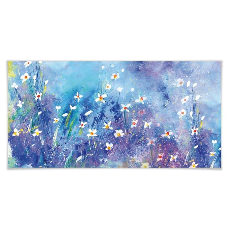 Poster Niksic - Ein Sommer in Blau
