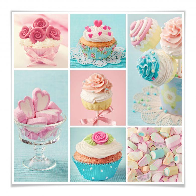 Poster Cupcake-Collage