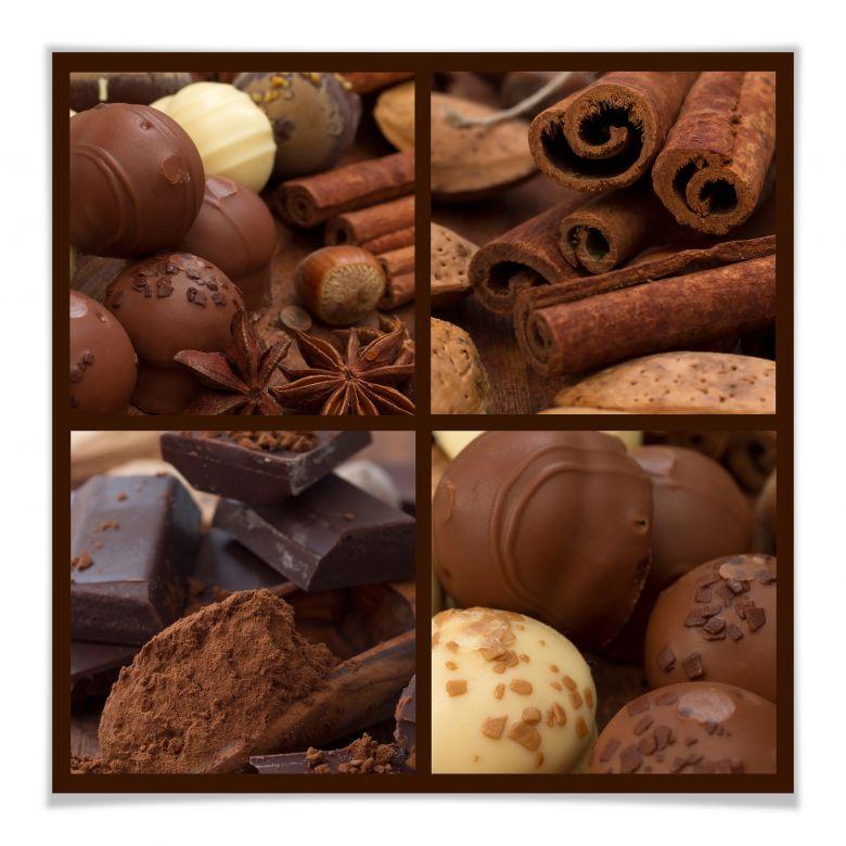 Poster Schokoladentraum
