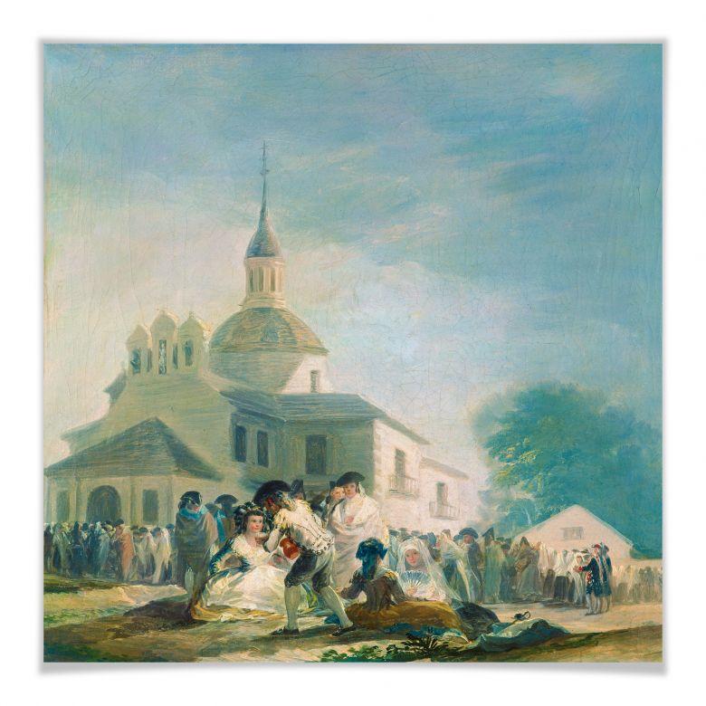 Poster de Goya - Die Einsiedelei des hl. Isidor
