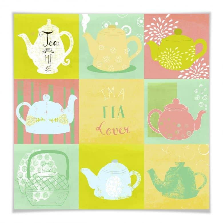 Poster Loske - Tea Time