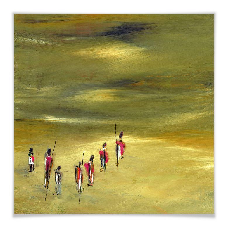 Poster Niksic - Die Wanderer