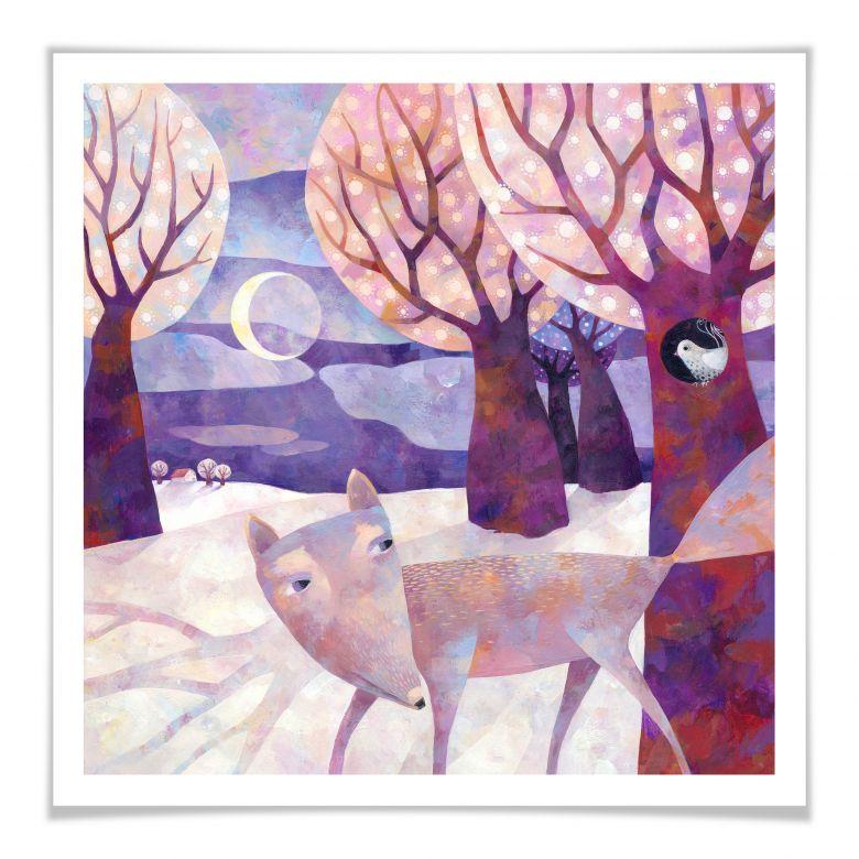 Poster Blanz - Winterwald