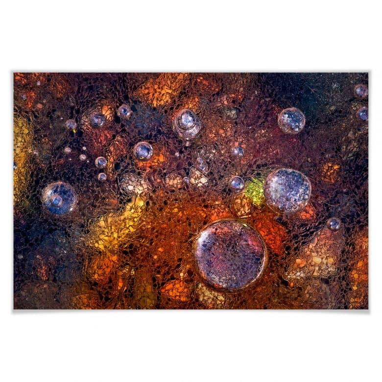 Poster Giudici - Abstraktes Glas