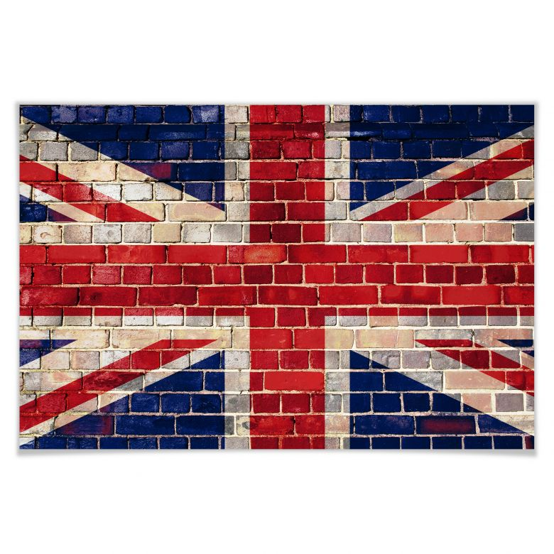 Poster Union Jack Mauer