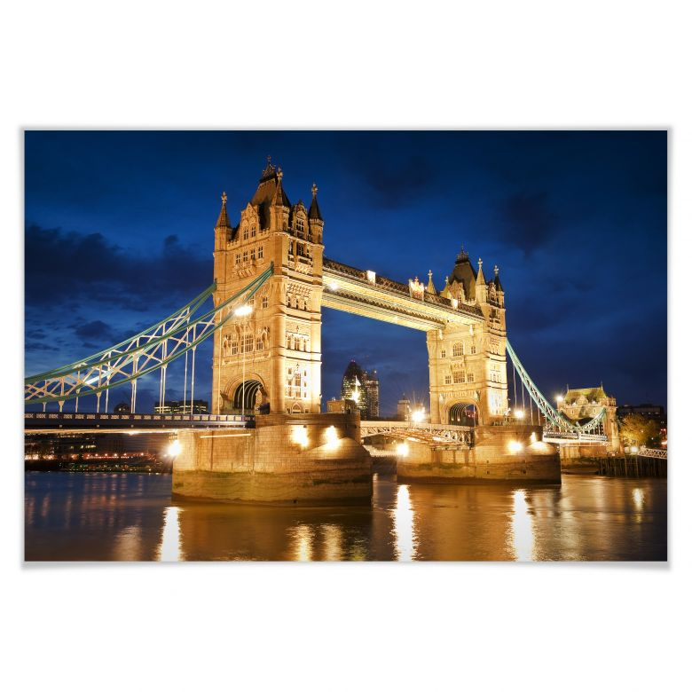 Poster - Tower Bridge in London