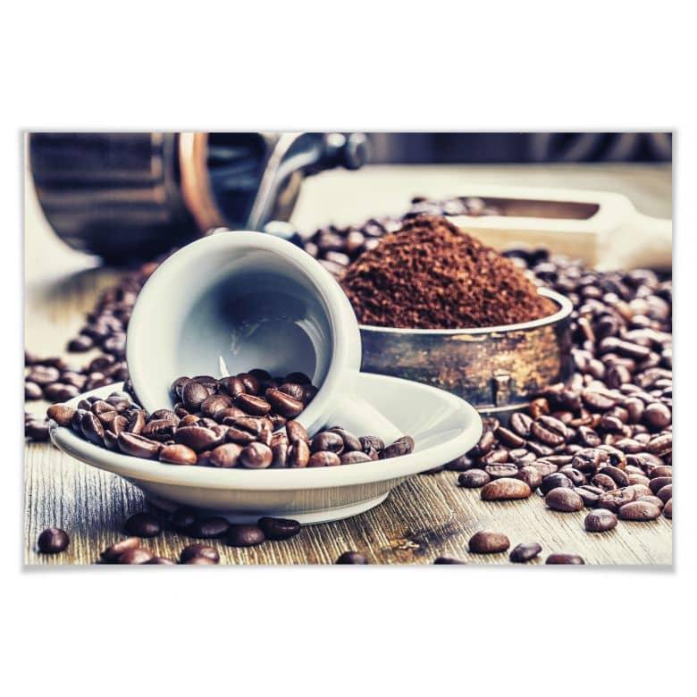 Poster Kaffeeträume
