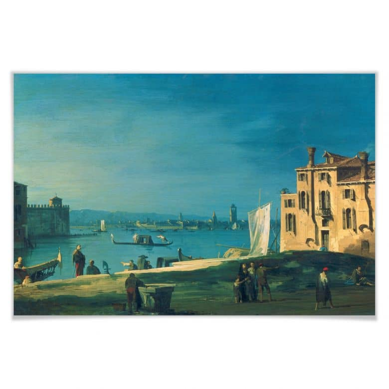 Poster Canaletto - Die Insel Murano