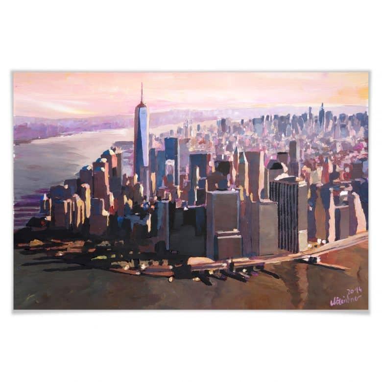Poster - Bleichner - Manhattan Freedom