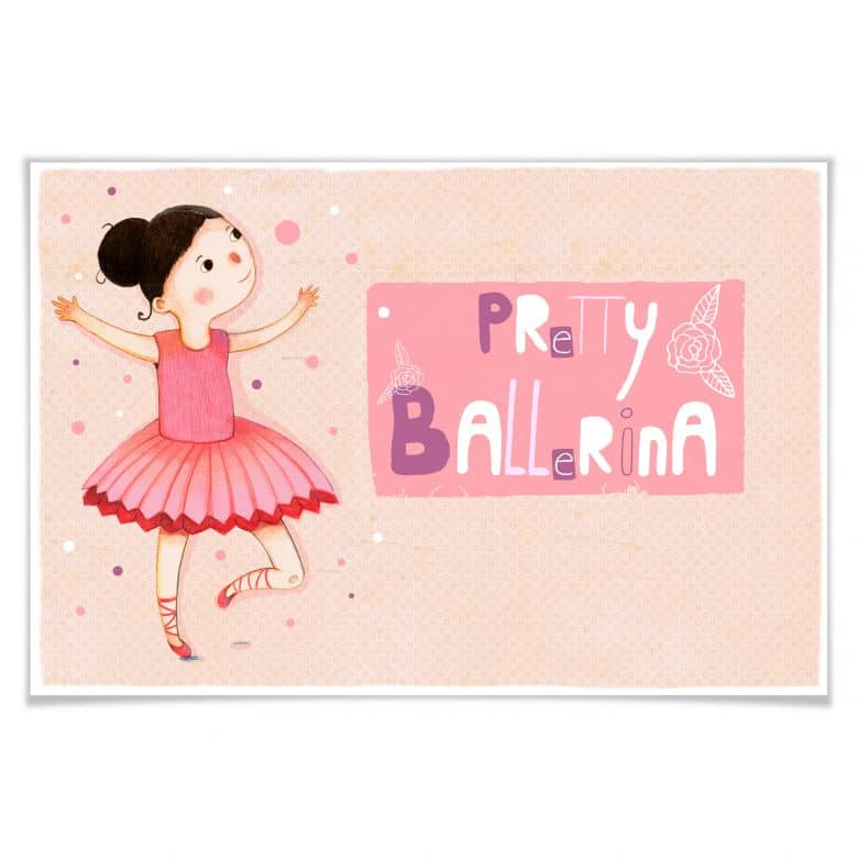 Poster Loske - Pretty Ballerina
