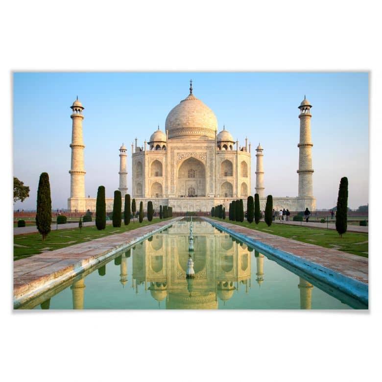 Poster - Taj Mahal