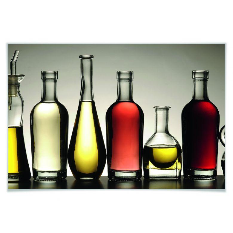 Poster Olio e Aceto