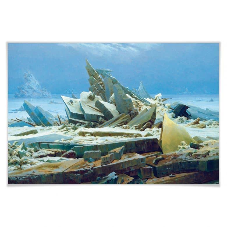 Poster Friedrich - Das Eismeer