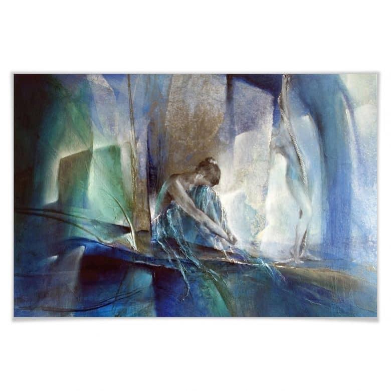 Poster Schmucker - Im blauen Raum