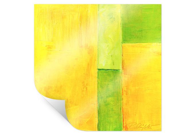 Poster Schüßler - Spring Composition III - quadratisch