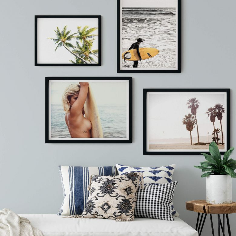 Poster-Set Surfer Paradies