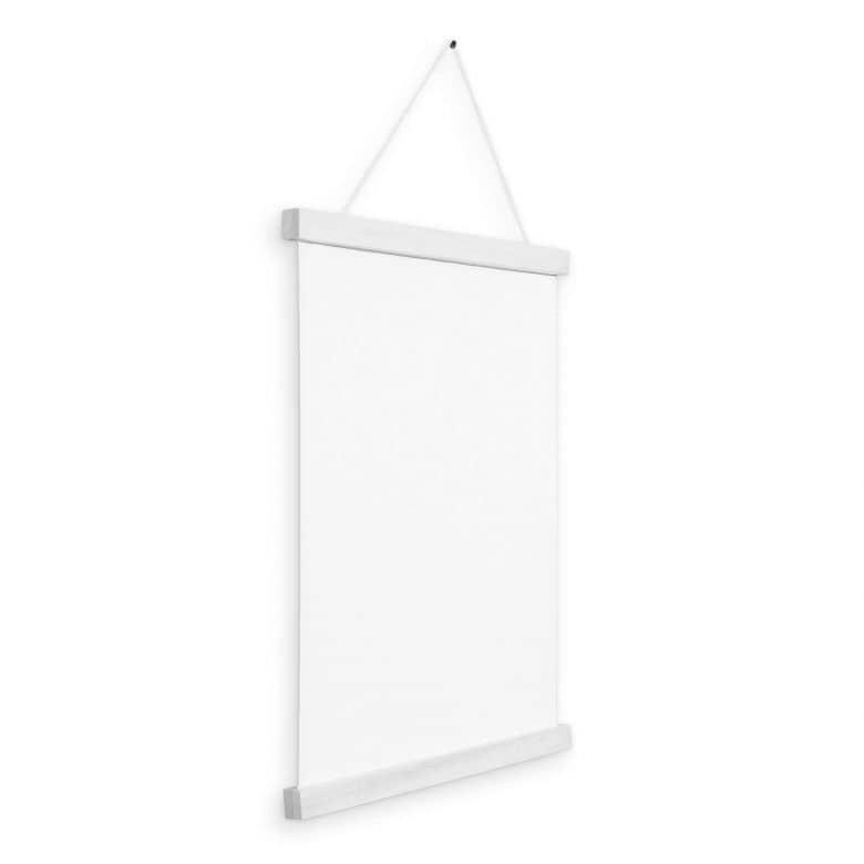 Porta poster - Bianco