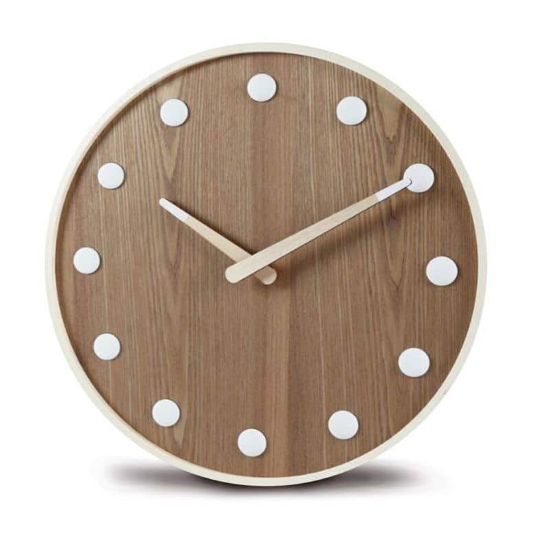 Wooden Clock Ø 47 cm