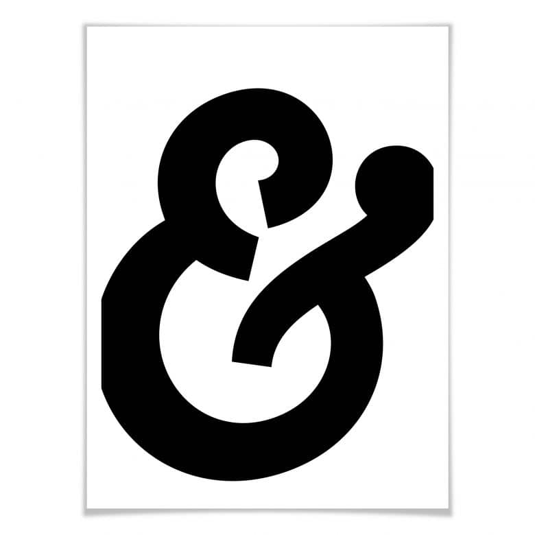 Poster Ampersand 01