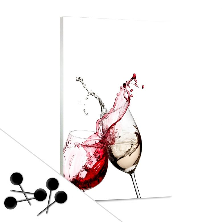 Wine Glasses Bulletin Board