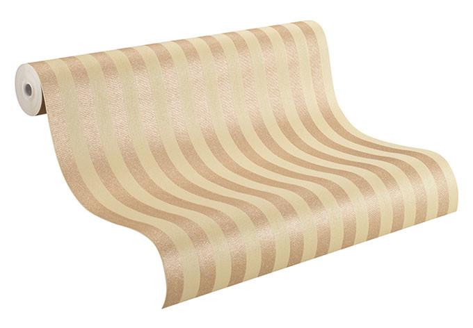 Rasch Vliestapete Trianon XI silber, metallic, creme, beige
