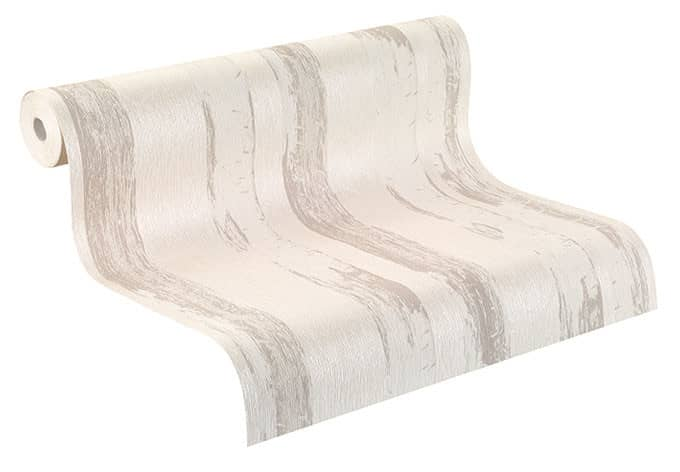 Rasch Vliestapete Amélie silber, metallic, creme, beige