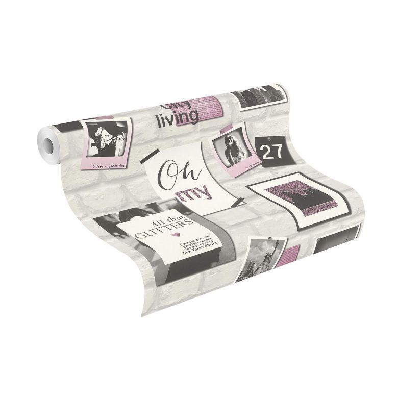 Rasch Kids & Teens III Papiertapete pink