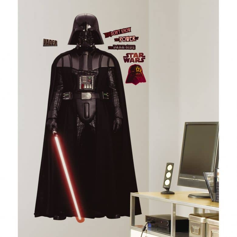 wandsticker maxi star wars darth vader wall. Black Bedroom Furniture Sets. Home Design Ideas