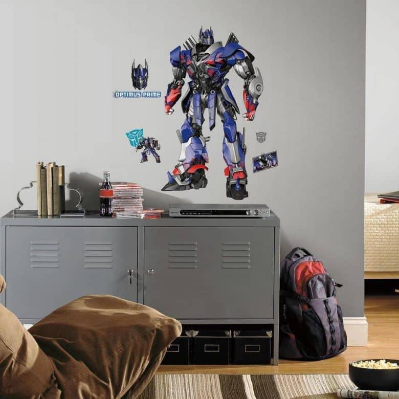Muursticker Transformers Optimus Prime
