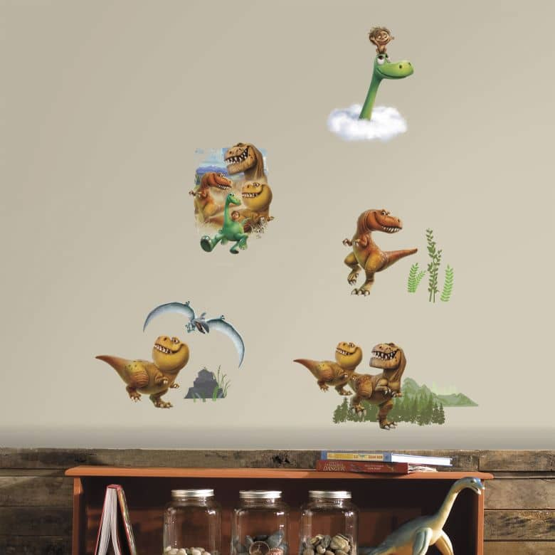 Muursticker Disney Arlo & Spot - Good Dinosaur-Set