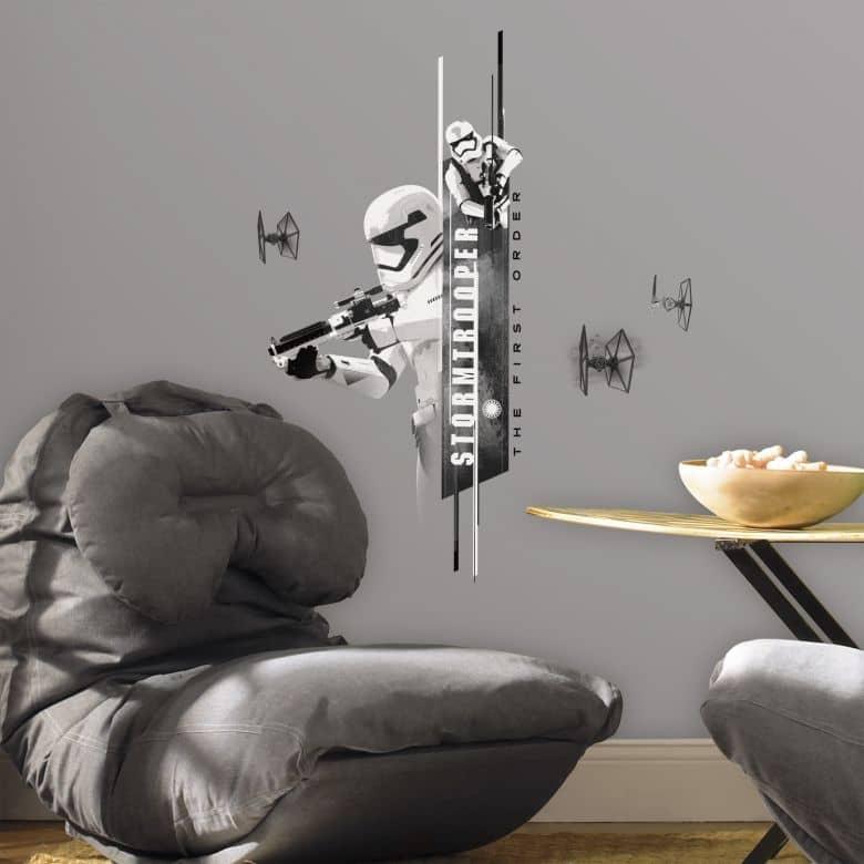 Sticker murale - Star Wars - Il Risveglio della Forza: Stormtrooper