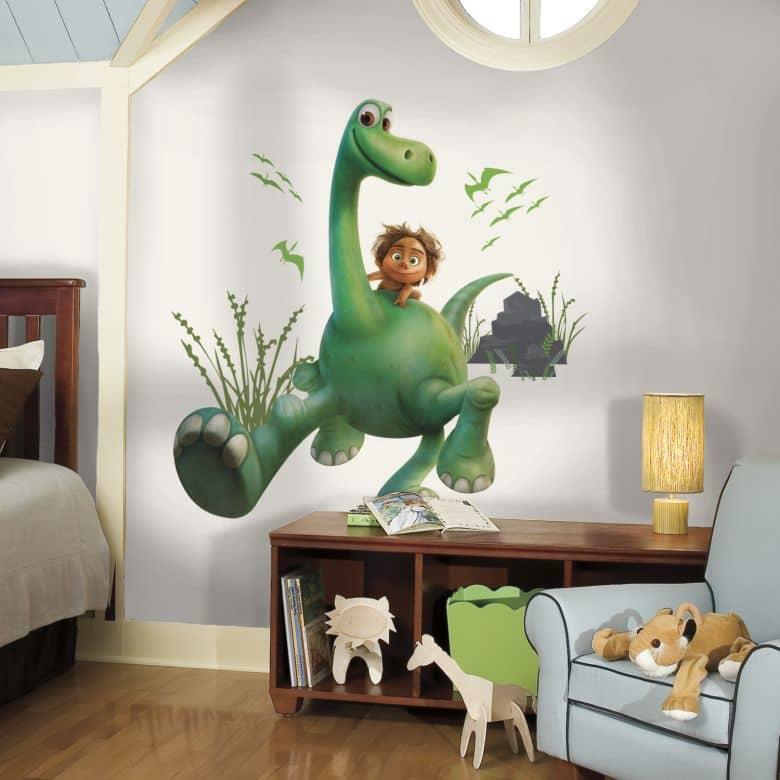 Sticker mural - Disney Arlo& Spot - Dinosaures set