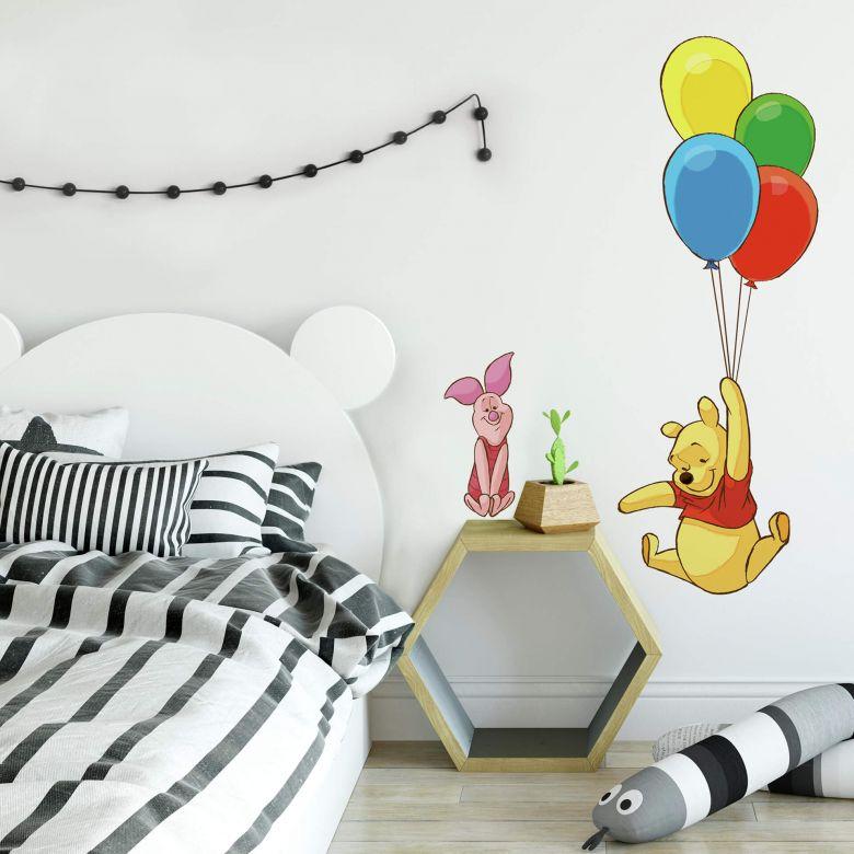 Adesivo - Winnie the Pooh palloncini