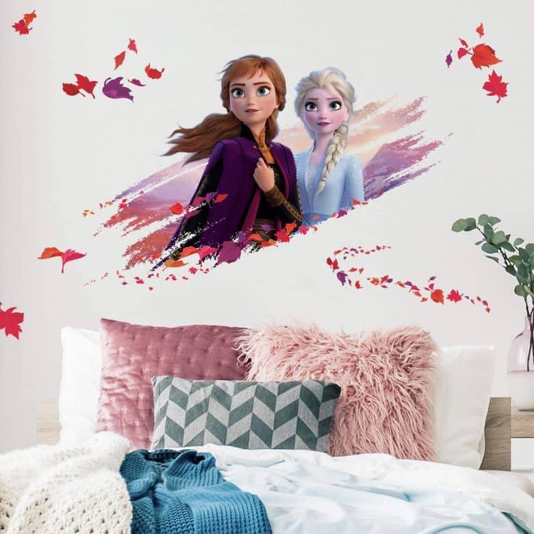 Sticker murale Frozen 2 - Elsa & Anna