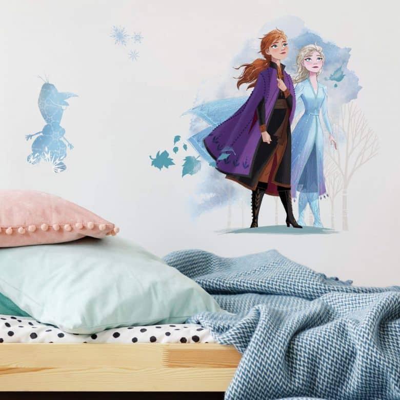 Wandsticker-Set Die Eiskönigin 2 - Anna & Elsa
