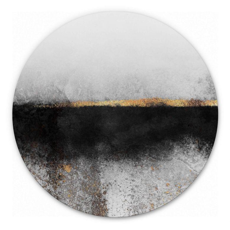 Wandcirkel Fredriksson - Rusty Gold